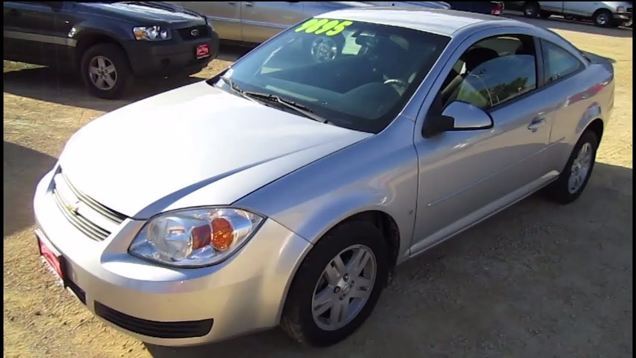 All Chevy 2005 chevy colbalt : 2006 CHEVROLET COBALT COUPE, Start Up, Walk Around and Review ...