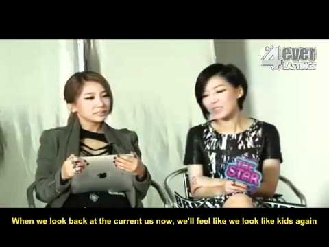 [ENG] 111013 The Star - Brown Eyed Girls Interview