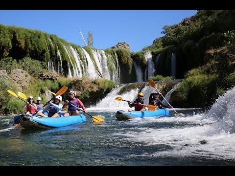 Canoe safari excursion, Zrmanja river - Zadar, Croatia