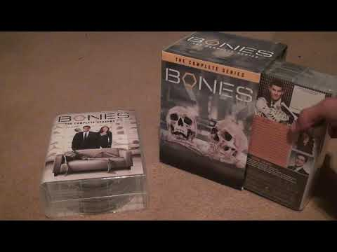 Bones The Complete Series DVD Unboxing