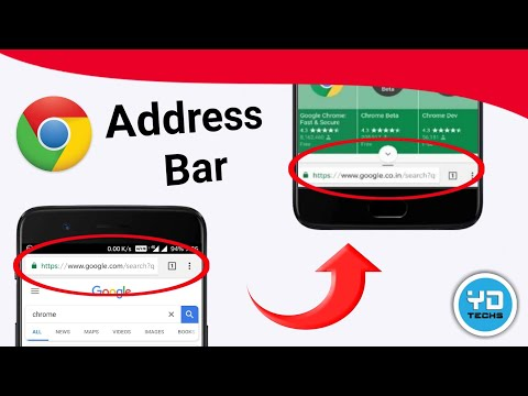 How To Move Google Chrome Address Bar To Bottom Android | Chrome setting | Android Tips