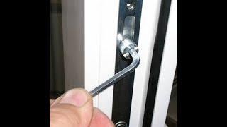 Регулировка  окна , как снять стеклопакет ,штапик  . Ремонт окна самостоятельно . ПВХ окна .