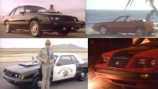 1982-1986 Ford Mustang GT TV Commercials