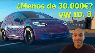 Reservas abiertas del Volkswagen ID. 3 2020: Todo lo que necesitas saber del eléctrico masivo de VW