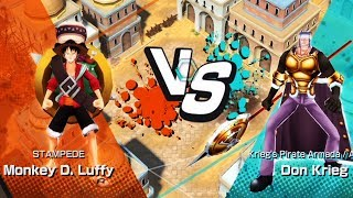 One Piece Song Đấu - LUFFY Stampede Đánh Bại Don Krieg - Top Game Hay Mobile, Android, Ios