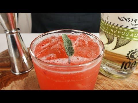 STRAWBERRY SAGE MARGARITA - Tequila time!!