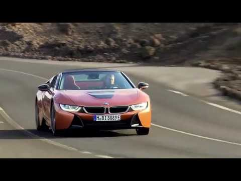 2018 Bmw I8 Roadster Driving Video Youtube