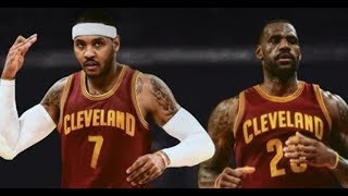 CARMELO GET TRADED TO THE CAVS AND KYRIE LEAVE AND THEY SIGN DROSE!SIGNS A 3YR/97 MILLION CONTRACT!
