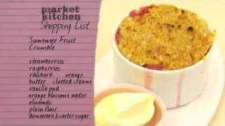 Summer Fruit Crumble Part 2 - Market Kitchen