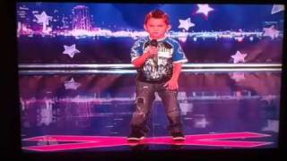 Americas got talent (6 year old kid Tanner Edward)