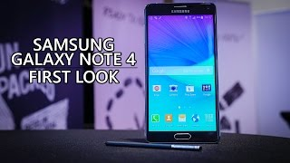 Samsung Galaxy Note 4 First Look!