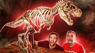 Fizemos um T-Rex GIGANTE! ft. 3D Geek Show