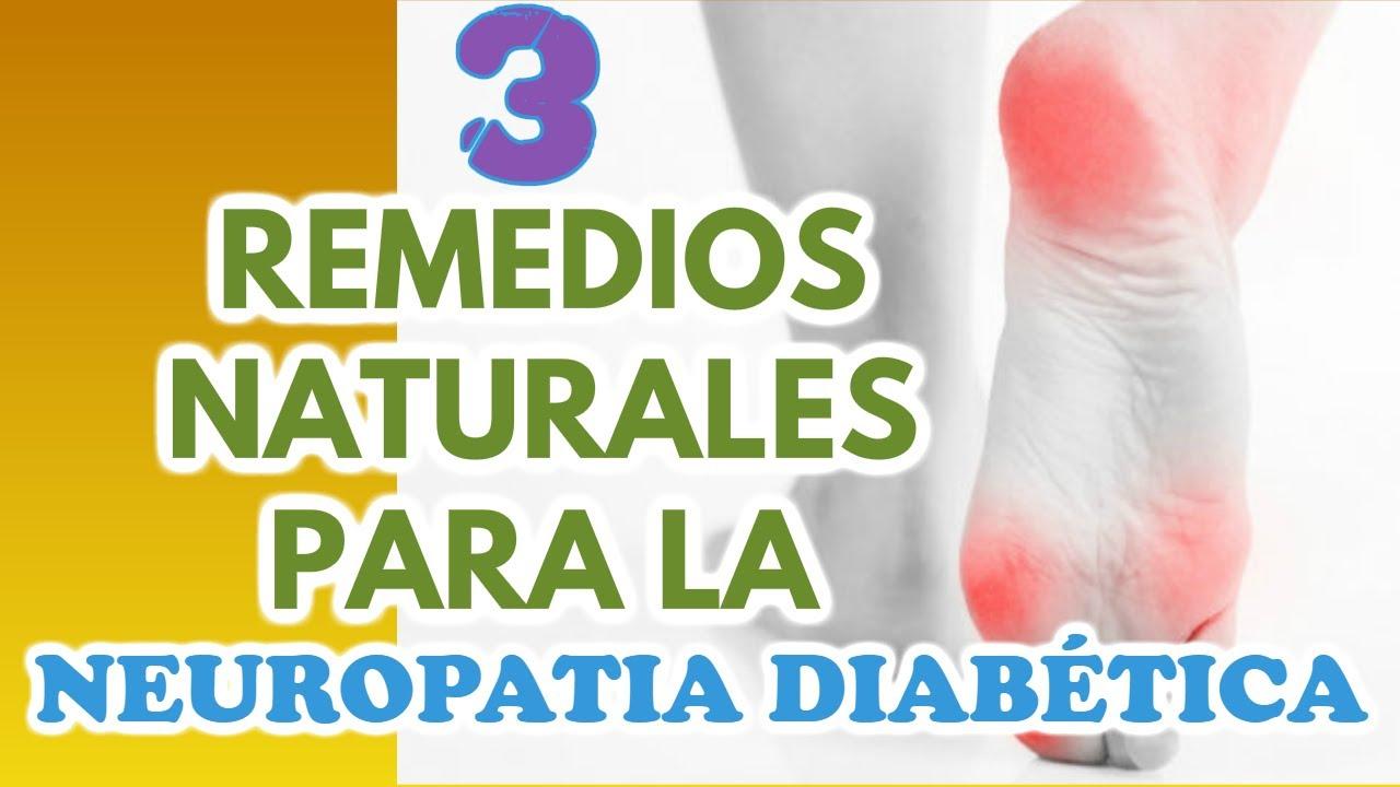 3 Remedios Naturales para Aliviar la Neuropatía Diabética