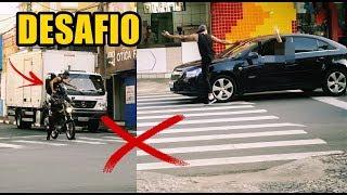 SUBINDO EM CARRO QUE PARAM NA FAIXA #DESAFIO thumbnail