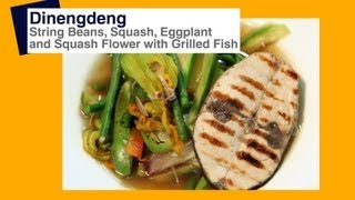 Dinengdeng With Grilled Tuna