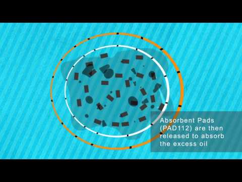 Oil Spill Response Animation