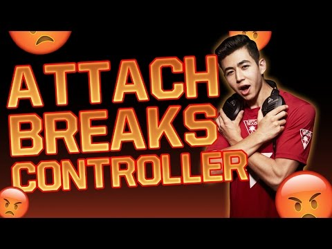 ATTACH RAGES AND BREAKS CONTROLLER!