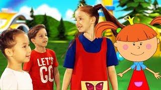 Детские песенки - Детские песенки - Жила - была Царевна: Зарядка с Царевной