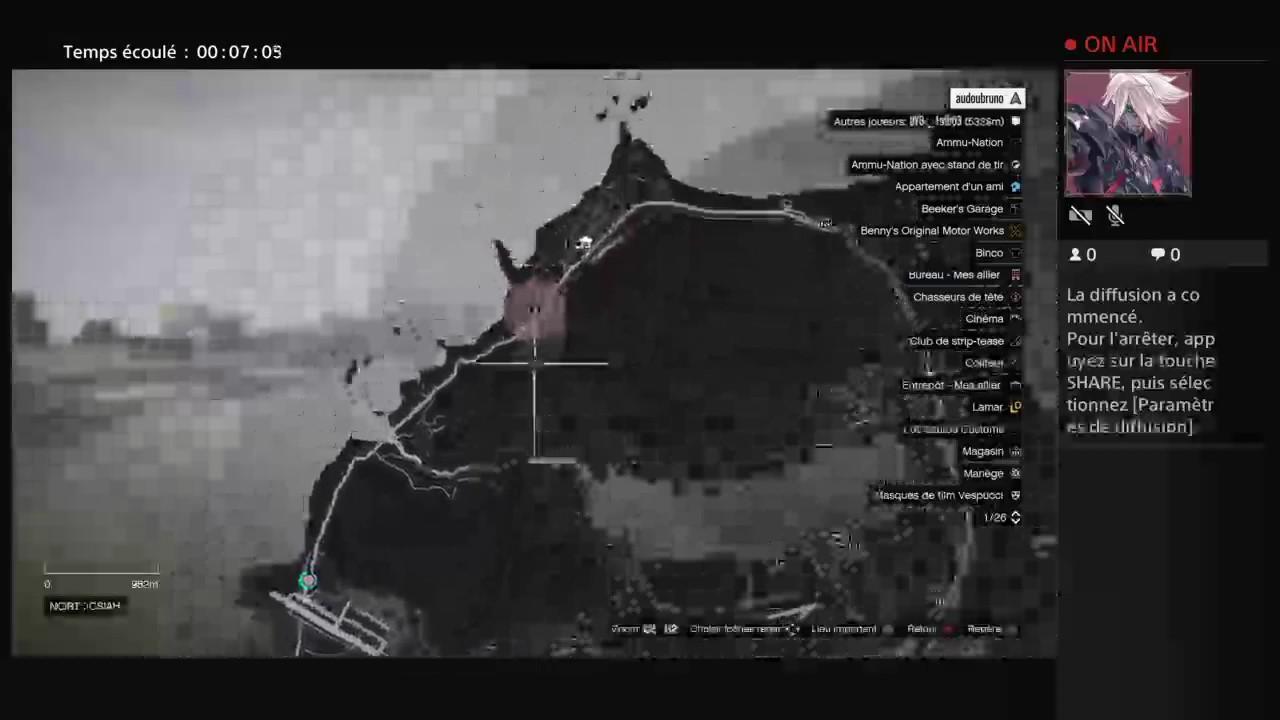 Diffusion ps4 en direct de keke gaming sur le 2 eme compte youtube