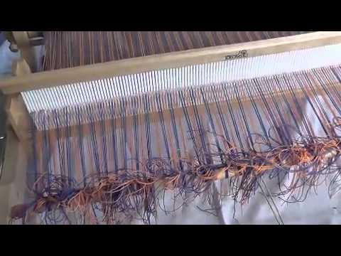 Spinning, Warping & Weaving with a kromski ridged heddle loom