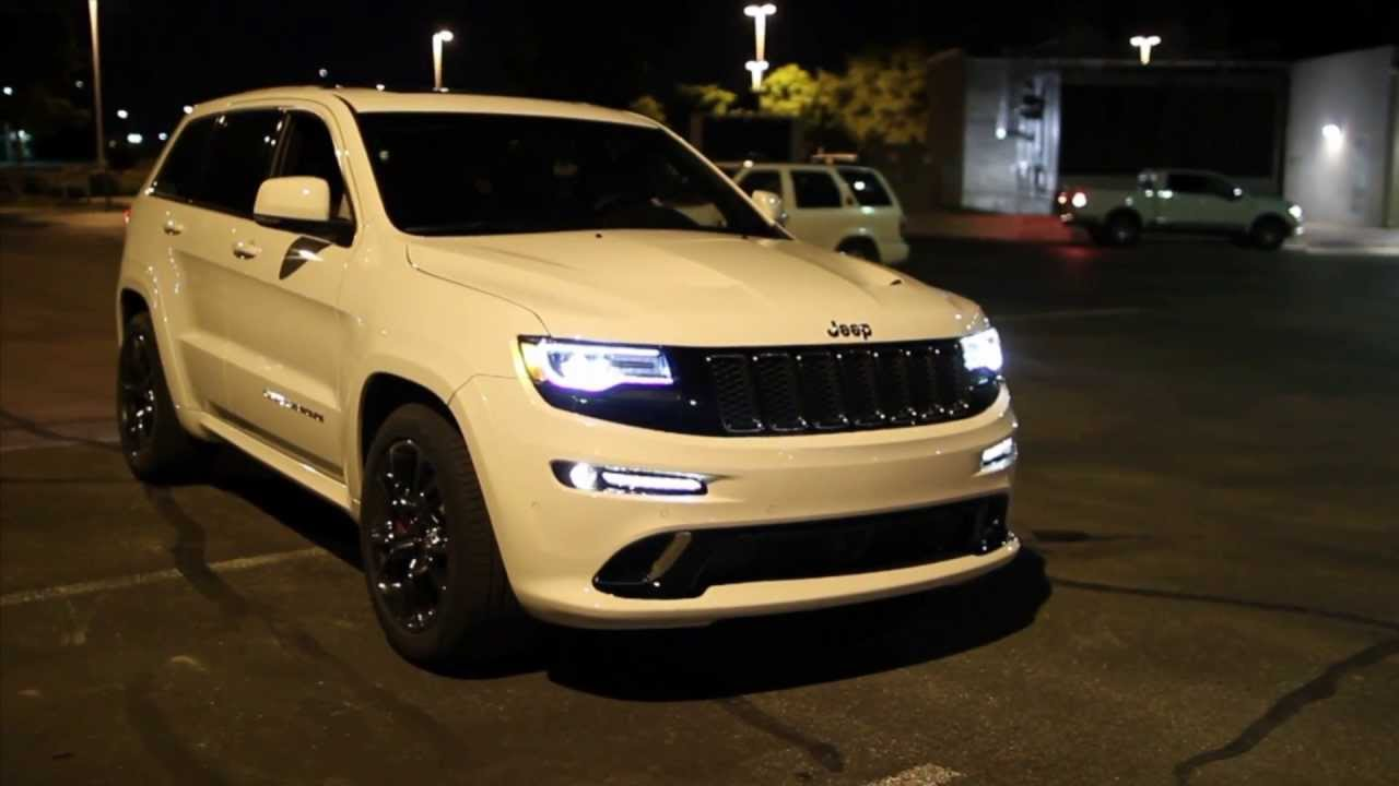 Unloading New 2014 Jeep Grand Cherokee SRT! 04/19/2013   YouTube