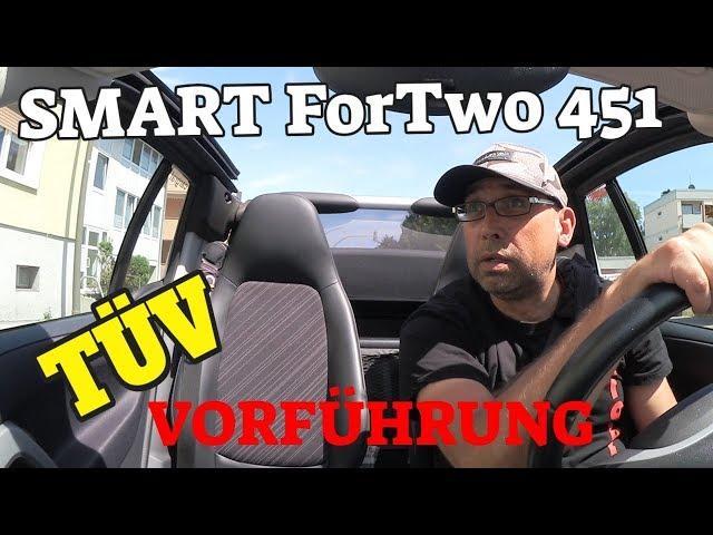 Hauptuntersuchung + Mängelliste - SMART 451