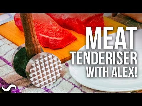 MAKING A MEAT TENDERISER WITH ALEX FRENCH GUY COOKING!!!