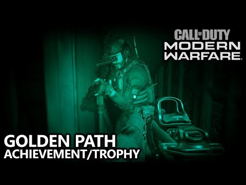 Call of Duty Modern Warfare - Golden Path Achievement/Trophy Guide - Perfect Run of Clean House