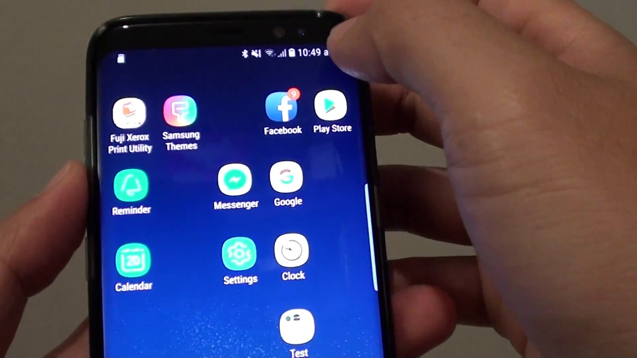 Samsung Galaxy S8 Sd Karte.Samsung Galaxy S8 How To Format An Sd Card