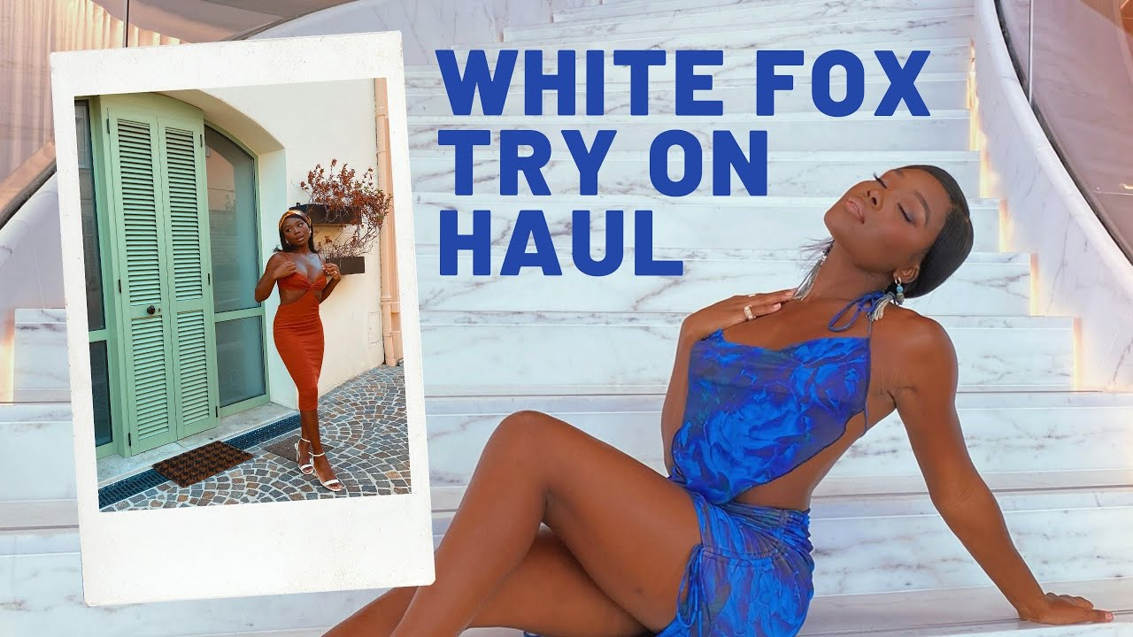 White Fox boutique try on clothing haul