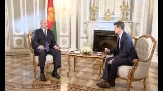 Телеверсия интервью Александра Лукашенко каналу Euronews