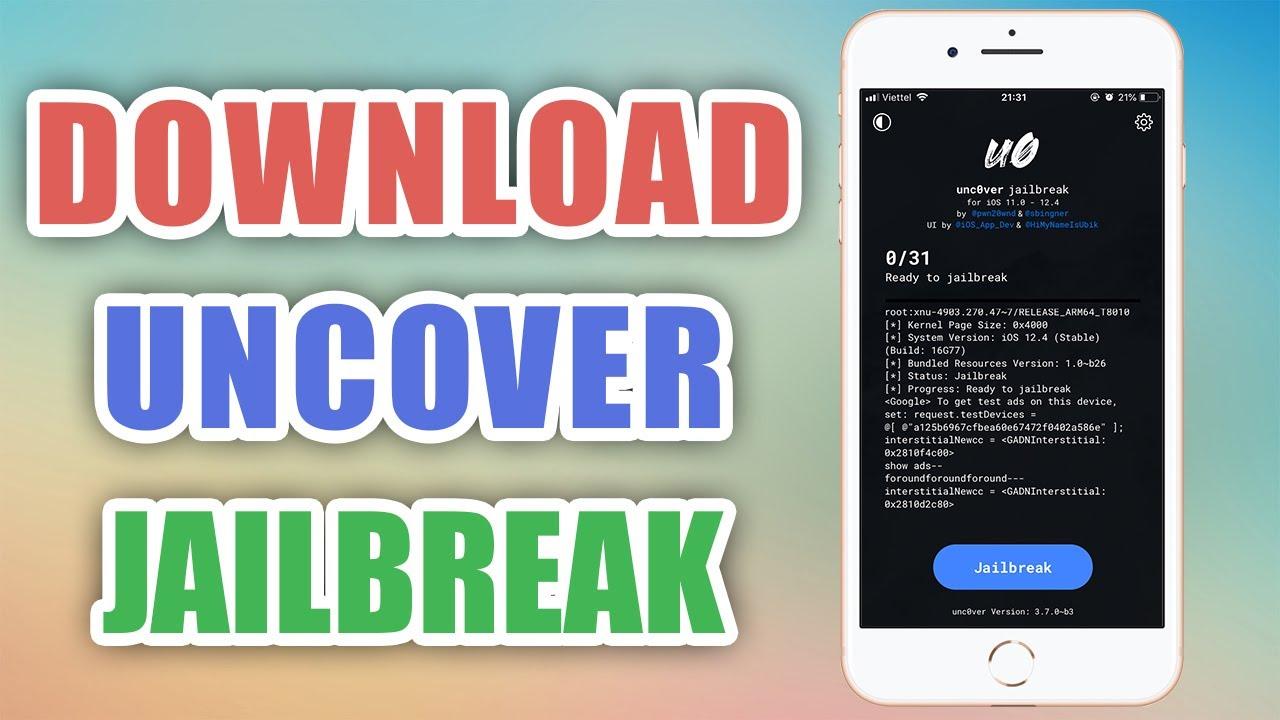 Tải Uncover jailbreak trực tiếp iPhone – No Computer