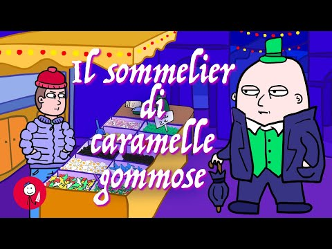 Il sommelier di caramelle gommose