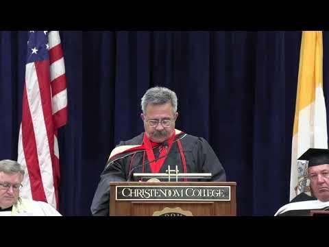 Commencement Address 2020 | Patrick Madrid