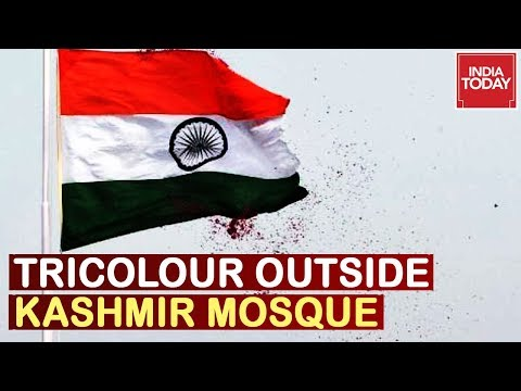 Modi's Naya Kashmir : Triclour At Jammu Mosque On Eve Of Eid, Message To Rumour Mongers