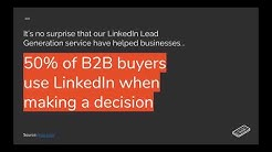 LinkedIn Lead Generation for Merchant Services Professionals