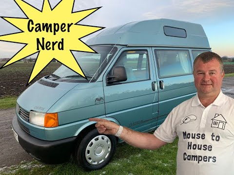 2002 VW T4 CAMPER 2.5 TDI 1 OWNER FSH CONVERSION FROM NEW GX51CVY
