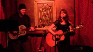 "Mark Rogers and Mary Byrne perform ""Swannanoa Tunnel"" @ Way Station 1/15/2013"