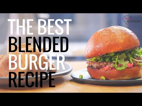 The Best Blended Burger Recipe by IRON CHEF, Stephanie Izard