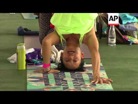 Jakarta promotes itself as yoga hotspot