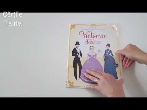 Usborne Historical Sticker Dolly Dressing Victorian Fashion Youtube