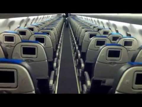 Embraer E190 (LV-CET). Austral Lineas Aéreas. Cabina pasajeros