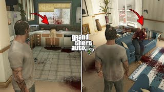 What Trevor Did To Floyd and Debra in GTA 5? (Floyd's Apartment After Trevor's Rage)