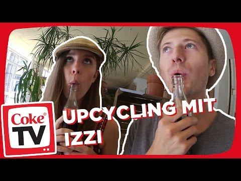 izzi und Barbieloveslipsticks beim Upcycling | #CokeTVMoment