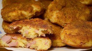 ШИКАРНАЯ ЗАКУСКА за 15 минут – Котлеты с Сыром и Сосисками БЫСТРО и ВКУСНО. Простой и Вкусный Рецепт