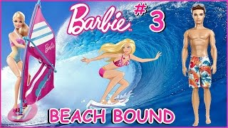 ~ ☼ BARBIE ☼ ~ Beach Bound Barbie Bro & Barbie