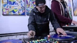 DJ's: Elliot Ness, MeNaCe, LazyBoy, Slipwax scratch session @ Table Manner's 2/23/14