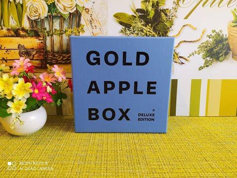 Коробочка от Золотого Яблока GOLDAPPLE BOX DELUXE EDITION/// май2020
