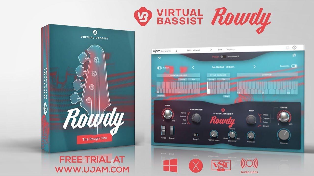 Virtual Bassist ROWDY