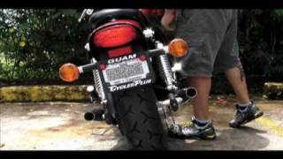 Repeat youtube video Vulcan 500 LTD (EN500) With HD Dyna Exhaust